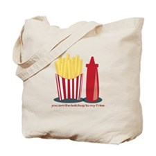Ketchup To My Fries Tote Bag