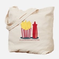 Ketchup To My Fries Tote Bag