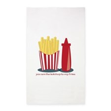 Ketchup To My Fries 3'x5' Area Rug