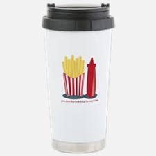 Ketchup To My Fries Travel Mug