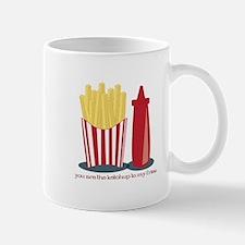 Ketchup To My Fries Mugs