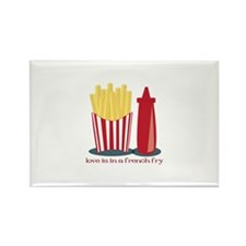 French Fry Love Magnets
