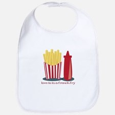 French Fry Love Bib