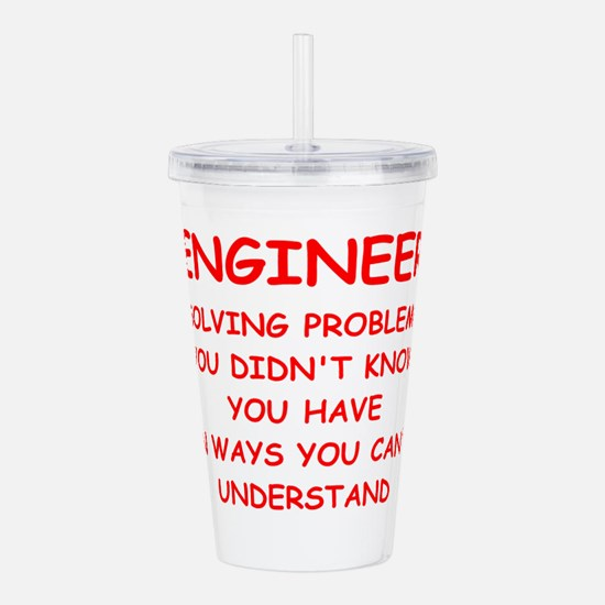 ENGINEER Acrylic Double-wall Tumbler