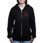 STATISITCS Women's Zip Hoodie