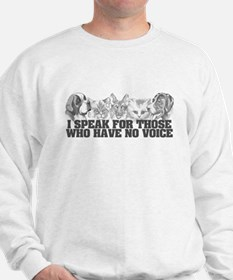 Animal Voice Sweatshirt