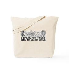 Animal Voice Tote Bag