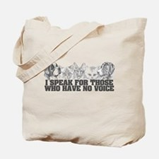 Animal Voice Tote Bag