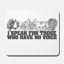 Animal Voice Mousepad