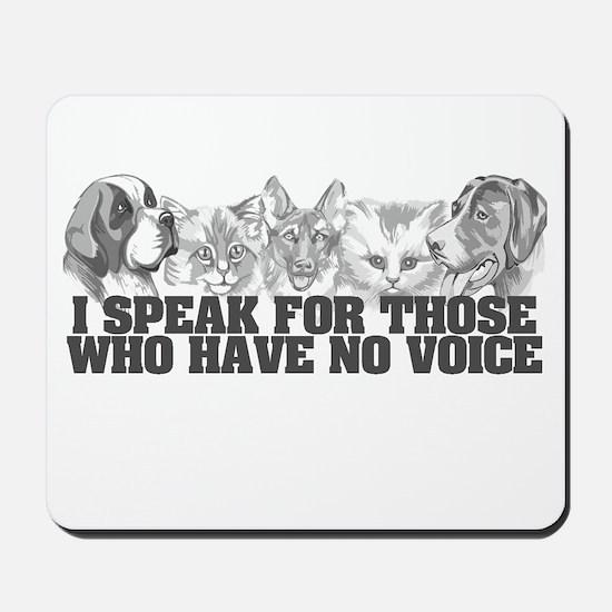 Animal Voice Mousepad