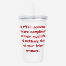 SILLY Acrylic Double-wall Tumbler