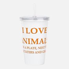 ANIMALS Acrylic Double-wall Tumbler