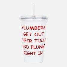 PLUMBERS Acrylic Double-wall Tumbler