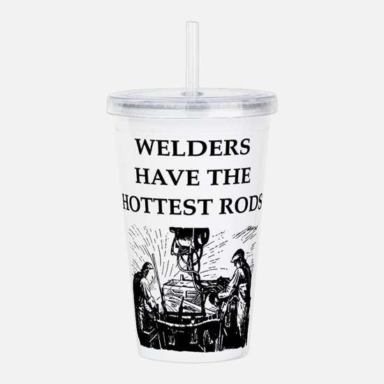 WELDER1 Acrylic Double-wall Tumbler