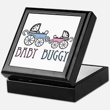 Baby Buggy Keepsake Box