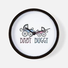 Baby Buggy Wall Clock
