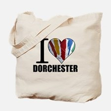 I Love Dorchester Tote Bag