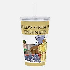 funny joke engineers engineering Acrylic Double-wa