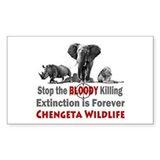 Stop The Killing Decal
