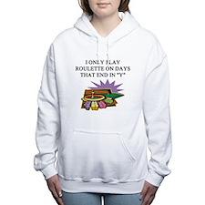ROULETTE.png Women's Hooded Sweatshirt