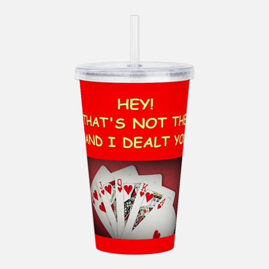 POKER2 Acrylic Double-wall Tumbler