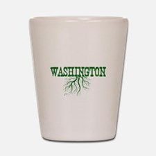 Washington Roots Shot Glass
