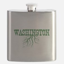 Washington Roots Flask