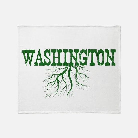 Washington Roots Throw Blanket