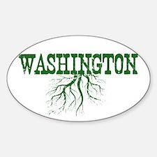 Washington Roots Sticker (Oval)