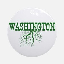 Washington Roots Ornament (Round)