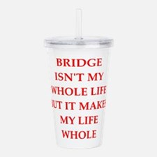 BRIDGE Acrylic Double-wall Tumbler