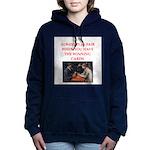 card game Women's Hooded Sweatshirt