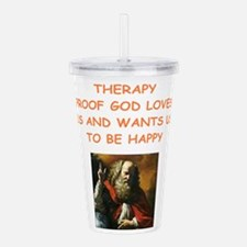 therapy Acrylic Double-wall Tumbler