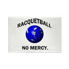 Cute Racquetball Rectangle Magnet