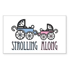 Strolling Along Decal