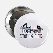"""Strolling Along 2.25"""" Button (100 pack)"""