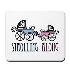 Strolling Along Mousepad
