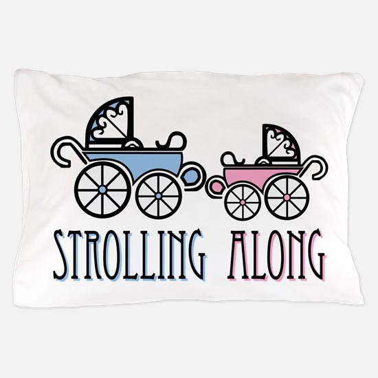 Strolling Along Pillow Case