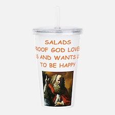 salad Acrylic Double-wall Tumbler
