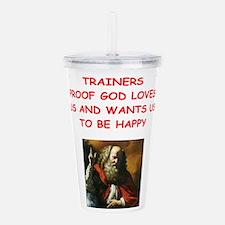 trainer Acrylic Double-wall Tumbler
