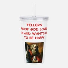 tellers Acrylic Double-wall Tumbler