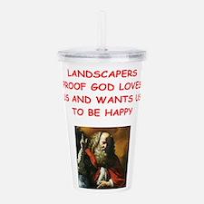landscaper Acrylic Double-wall Tumbler