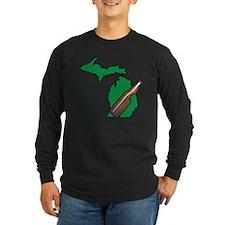 Michigan Beer Long Sleeve T-Shirt