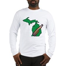 Michigan Beer Long Sleeve T-Shirt
