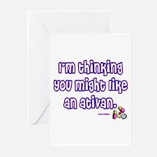 Ativan Greeting Cards (Pk of 10)