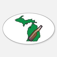 Michigan Beer Decal