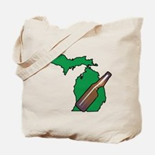 Michigan Beer Tote Bag