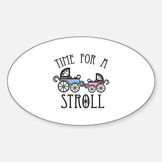 Time For A Stroll Decal