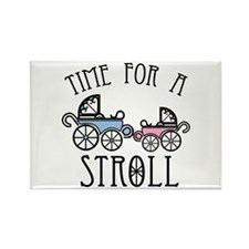 Time For A Stroll Magnets