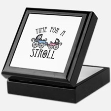 Time For A Stroll Keepsake Box